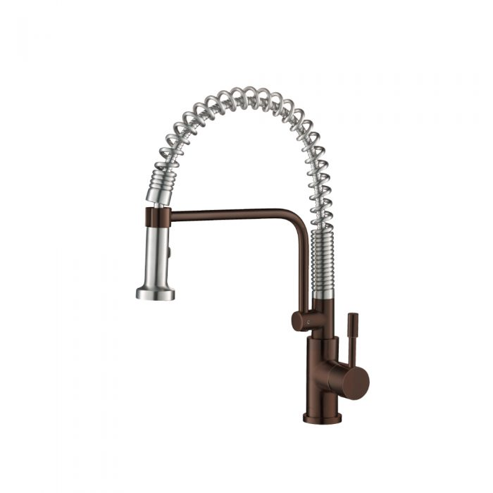 Vortex Brown Kitchen Faucet with spring