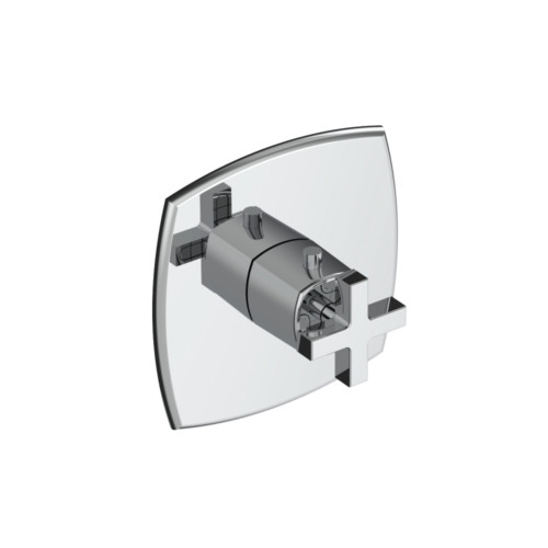 high flow thermostatic shower valve