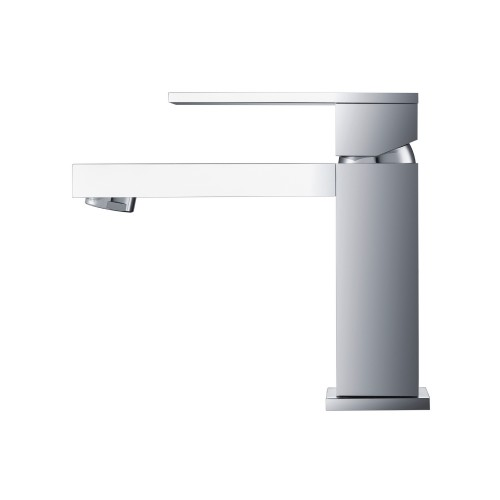 Modern Single Hole Faucet Chrome