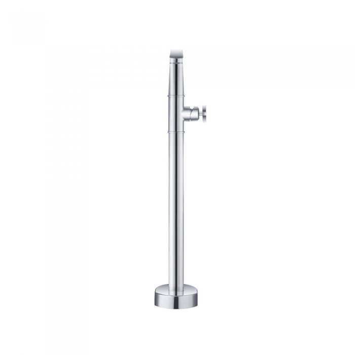 transitional floor mount tub filler