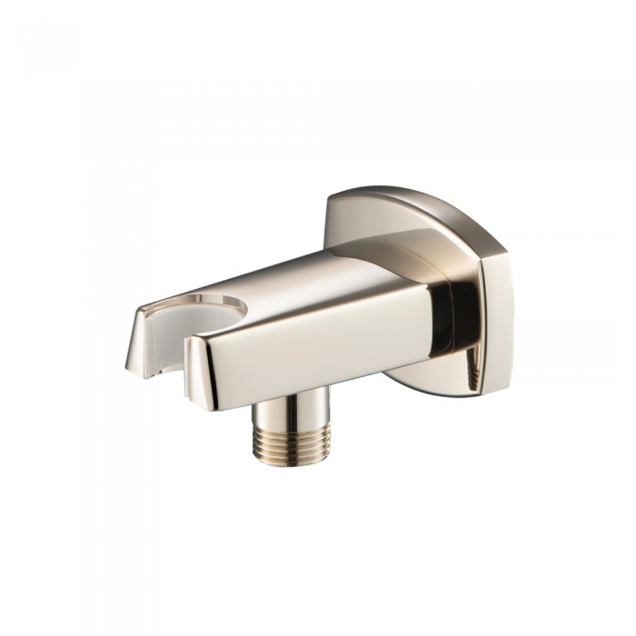 wall elbow in polished nickel