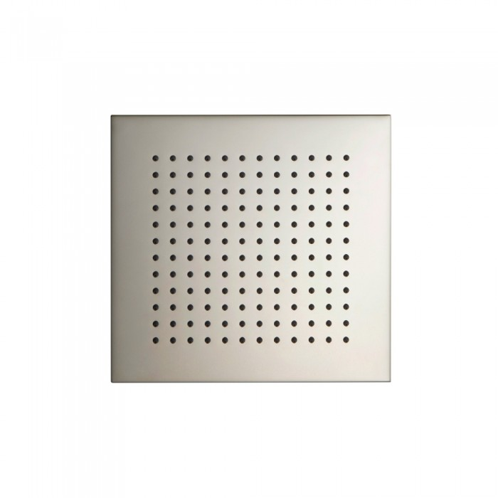 """8"""" Square Brass Shower head Polished nickel"""