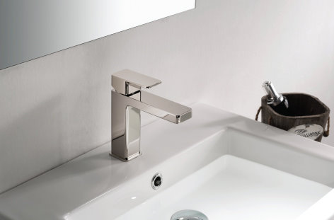 Polished Nickel Single Hole Faucet